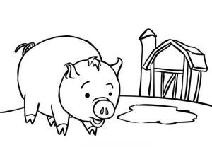 Pig Easy Coloring Pages